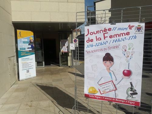 Devanture Mairie Irigny - FI