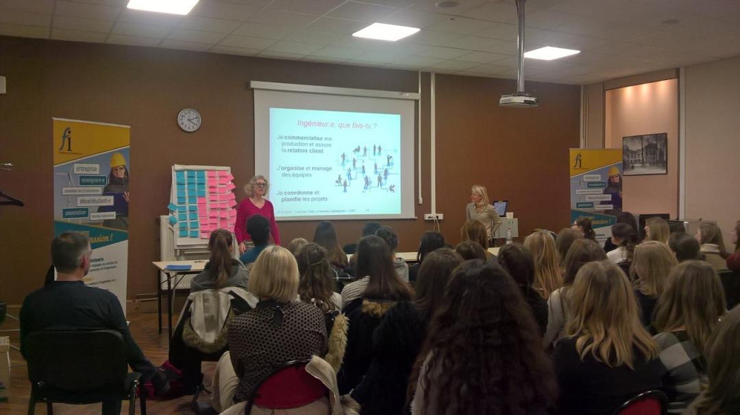 Femmes Ingénieurs au lycée Fenelon de Cambrai