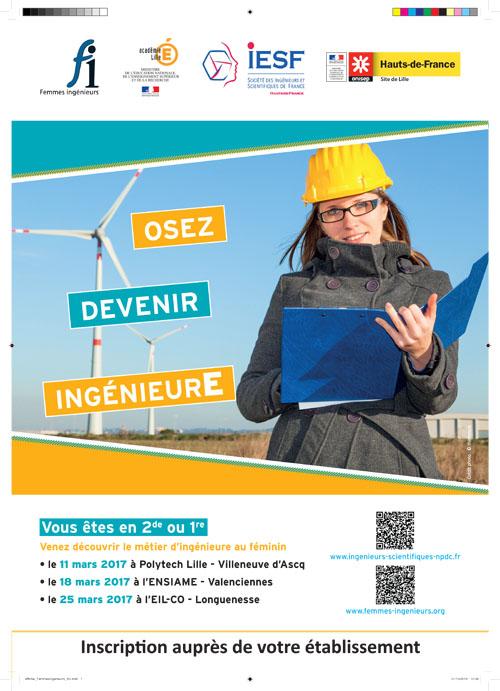 Ingénieure au féminin 2017