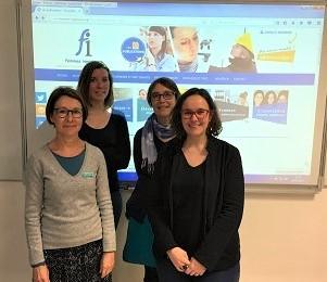 L'équipe de Femmes Ingénieurs
