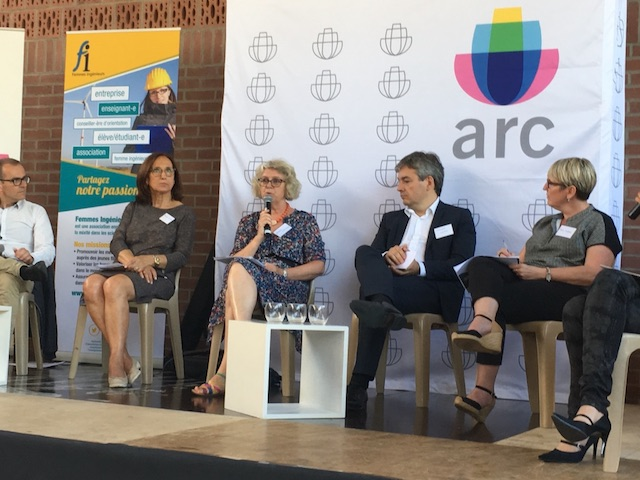 table ronde chez Arc France
